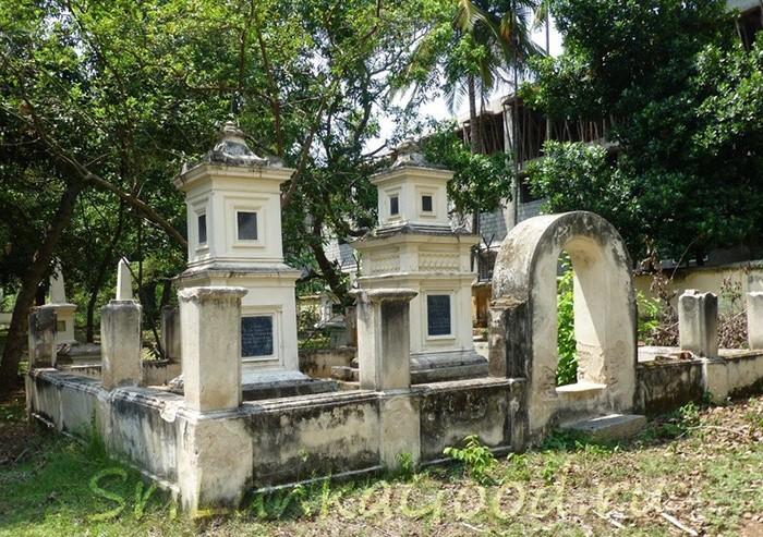 Христианское кладбище
