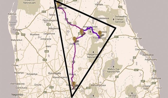 Золотой треугольник Шри-Ланки
