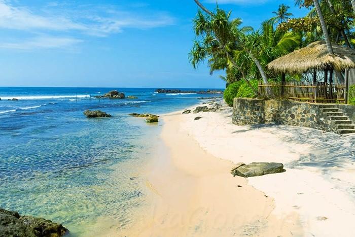Пляжи Шри-Ланки в декабре